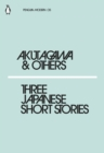 Three Japanese Short Stories - eBook