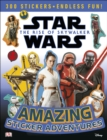 Star Wars The Rise of Skywalker Amazing Sticker Adventures - Book