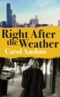 Right After the Weather - Book