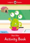 Nat Sits Activity Book - Ladybird Readers Starter Level 3 - Book