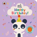 Baby Touch: Happy Birthday! - Book