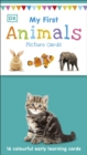 My First Animals : 16 colourful early learning cards - Book