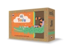Baby Touch: Tails : A touch-and-feel cloth book - Book