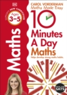 10 Minutes a Day Maths Ages 3-5 : Helps develop strong maths habits - Book