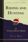 Riding and Hunting - eBook