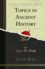Topics in Ancient History - eBook