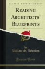 Reading Architects' Blueprints - eBook