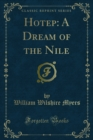 Hotep: A Dream of the Nile - eBook
