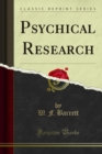 Psychical Research - eBook
