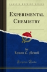 Experimental Chemistry - eBook