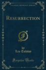 Resurrection - eBook
