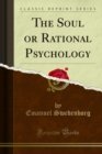The Soul or Rational Psychology - eBook