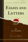 Essays and Letters - eBook