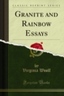 Granite and Rainbow Essays - eBook