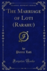 The Marriage of Loti (Rarahu) - eBook