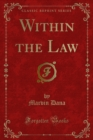 Within the Law - eBook