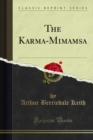 The Karma-Mimamsa - eBook