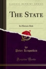 The State : Its Historic Role - eBook
