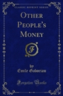 Other People's Money - eBook