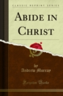 Abide in Christ - eBook