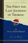The First and Last Journeys of Thoreau - eBook