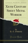 Xxth Century Sheet Metal Worker - eBook