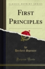 First Principles - eBook