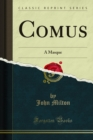 Comus : A Masque - eBook