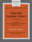 Franchthi Neolithic Pottery, Volume 2, vol. 2 : The Later Neolithic Ceramic Phases 3 to 5, Fascicle 10 - eBook