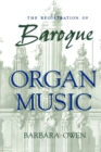 The Registration of Baroque Organ Music - Book