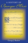 A History of Baroque Music - Book