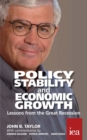 Policy Stability and Economic Growth - Lessons from the Great Recession : Lessons from the Great Recession - eBook