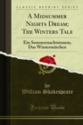 A Midsummer Nights Dream : The Winters Tale - eBook