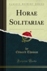 Horae Solitariae - eBook