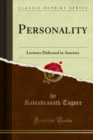 Personality : Lectures Delivered in America - eBook