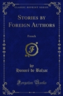 Stories by Foreign Authors : French - eBook
