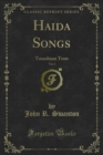 Haida Songs : Tsimshiam Texts - eBook