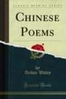 Chinese Poems - eBook