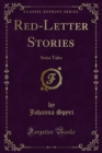 Red-Letter Stories : Swiss Tales - eBook