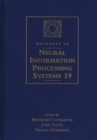 Advances in Neural Information Processing Systems 19 : Proceedings of the 2006 Conference - eBook