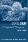 Bertil Ohlin : A Centennial Celebration (1899-1999) - eBook