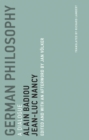 German Philosophy : A Dialogue - eBook