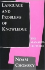 Language and Problems of Knowledge : The Managua Lectures Volume 16 - Book
