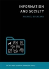 Information and Society - Book