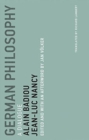 German Philosophy : A Dialogue Volume 11 - Book
