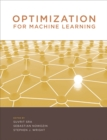 Optimization for Machine Learning - Book