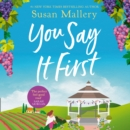 You Say It First - eAudiobook