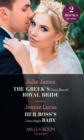 The Greek's Duty-Bound Royal Bride / Her Boss's One-Night Baby : The Greek's Duty-Bound Royal Bride / Her Boss's One-Night Baby - Book
