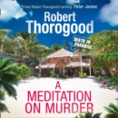 A Meditation On Murder - eAudiobook
