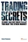 Trading Secrets : 20 hard and fast rules to help you beat the stock market - eBook